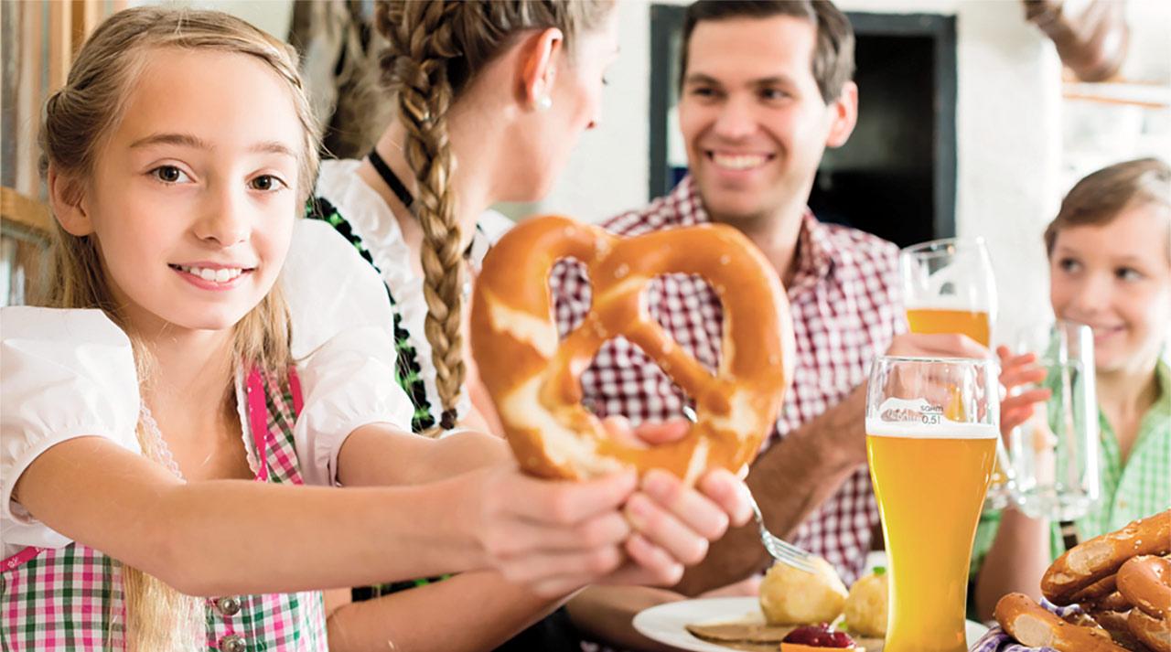 Feiern in Bayreuth in der Eremitenklause